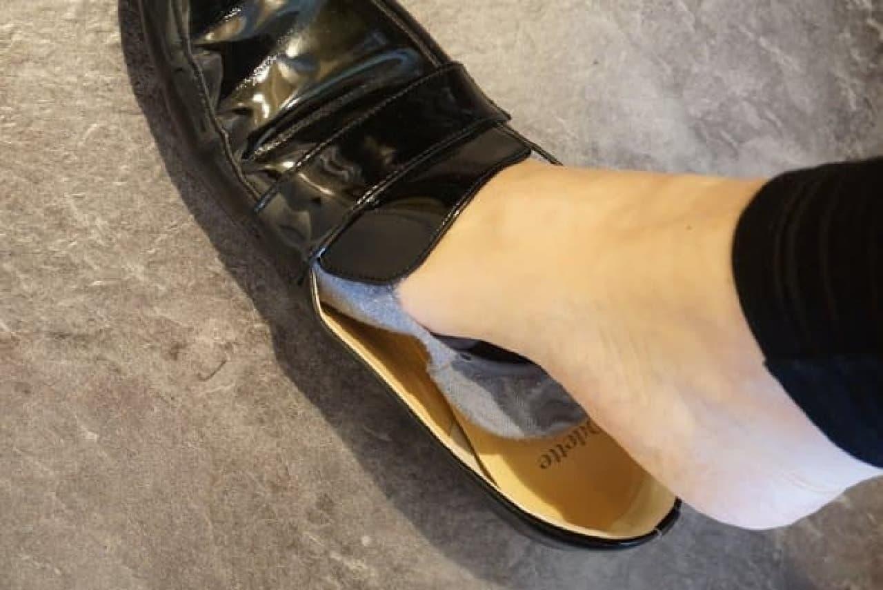 脱げない靴下「脱げない ココピタ」