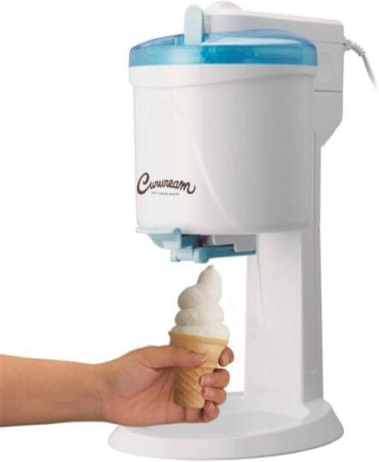 電動ソフトクリームメーカー