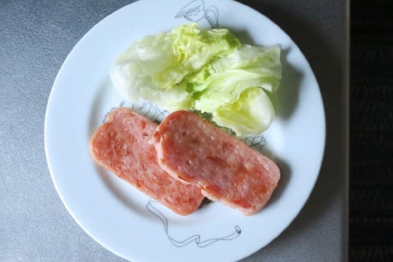 カルディ くり豚ランチョンミート