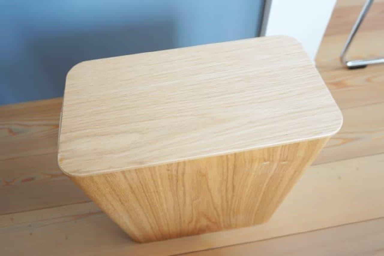 無印良品「木製ごみ箱用フタ」