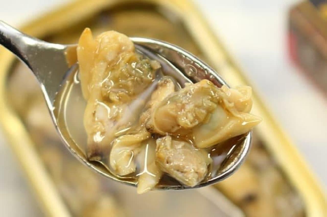 100均で買える「アヒージョ」の缶詰--あさり、牡蠣、ムール貝