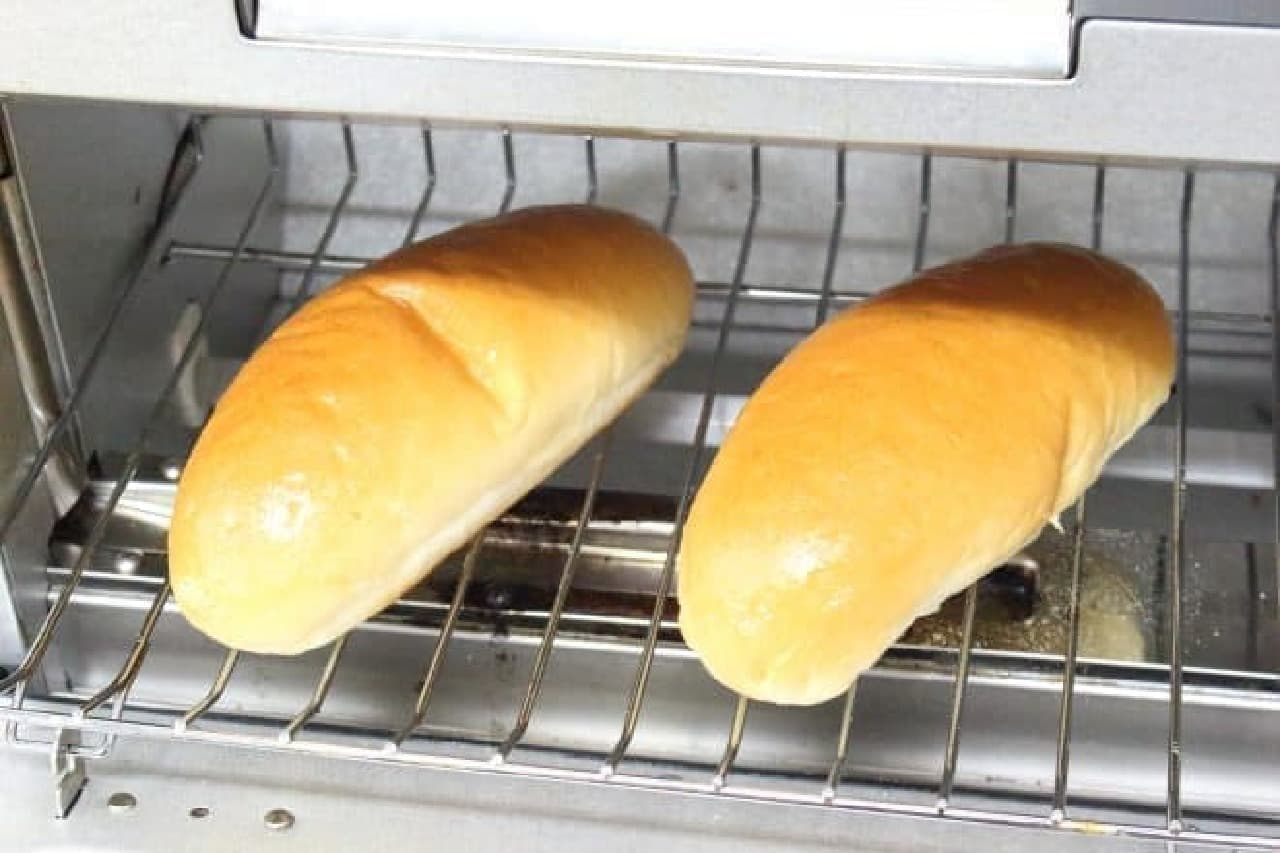コッペパンで作るきな粉揚げパンの簡単レシピ--オーブントースターでできる
