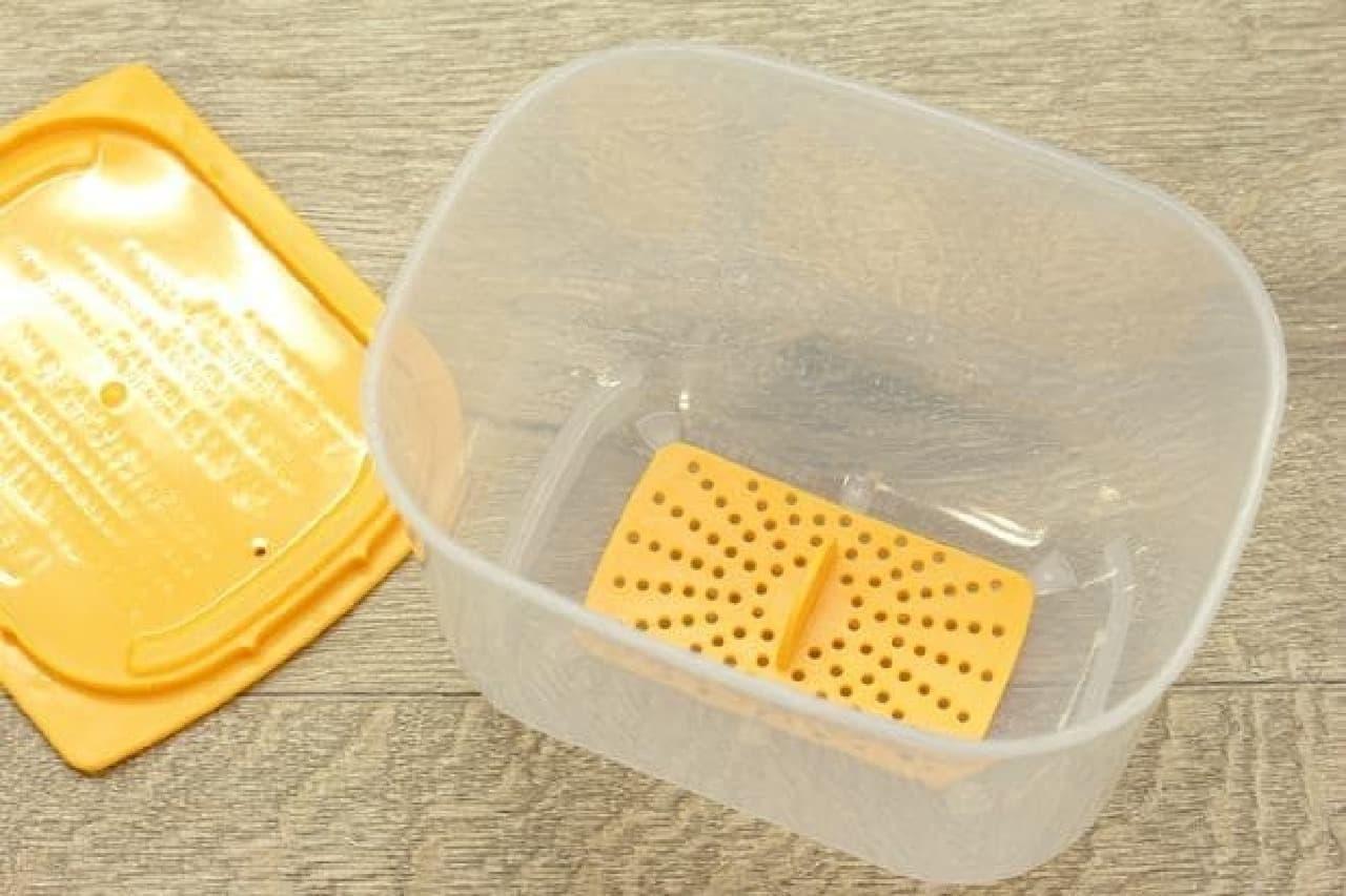 温泉卵が簡単にできる100円ショップの本格温泉たまご器