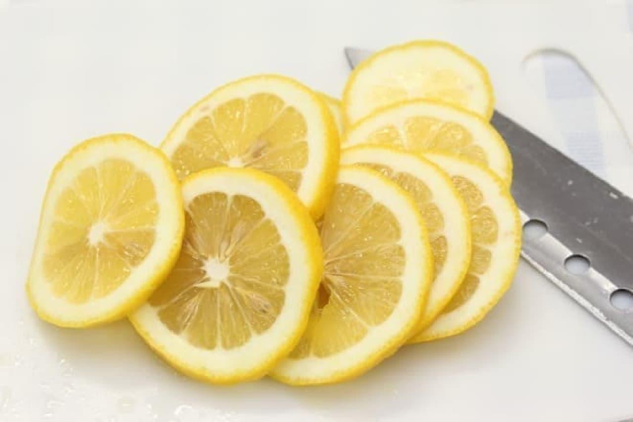 レモンのはちみつ漬けのレシピ