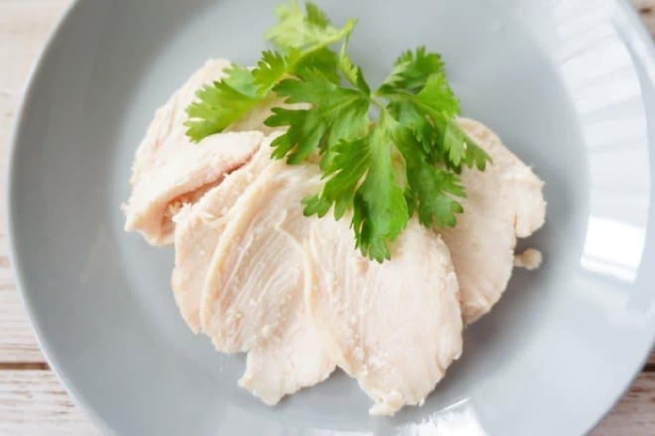 ヨーグルトメーカーで作る鶏ハム