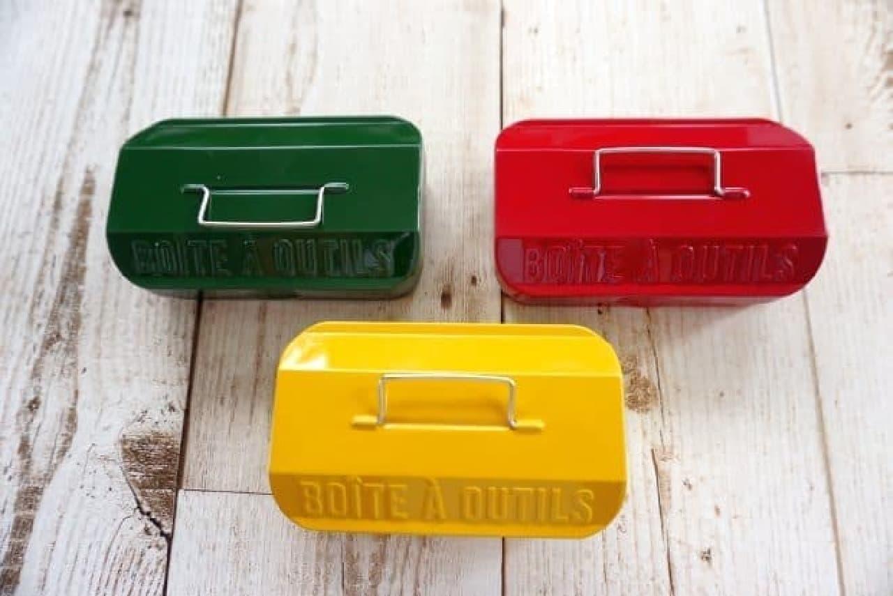 セリア「ブリック ツールボックス」