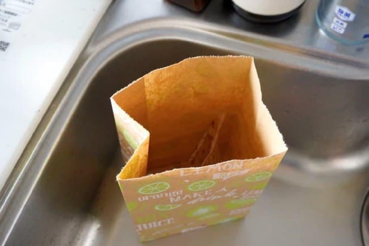 ダイソーの水切りゴミ袋