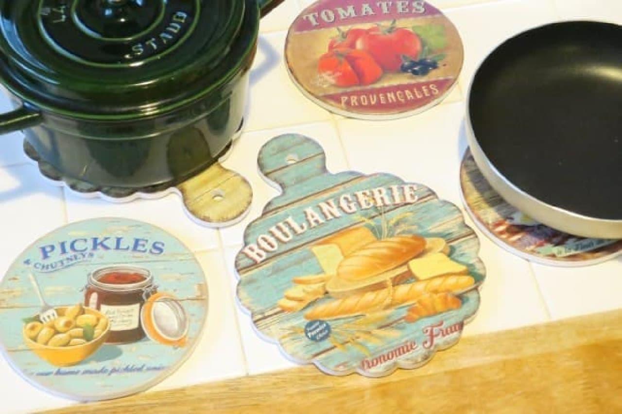 ダイソー陶器のなべしき