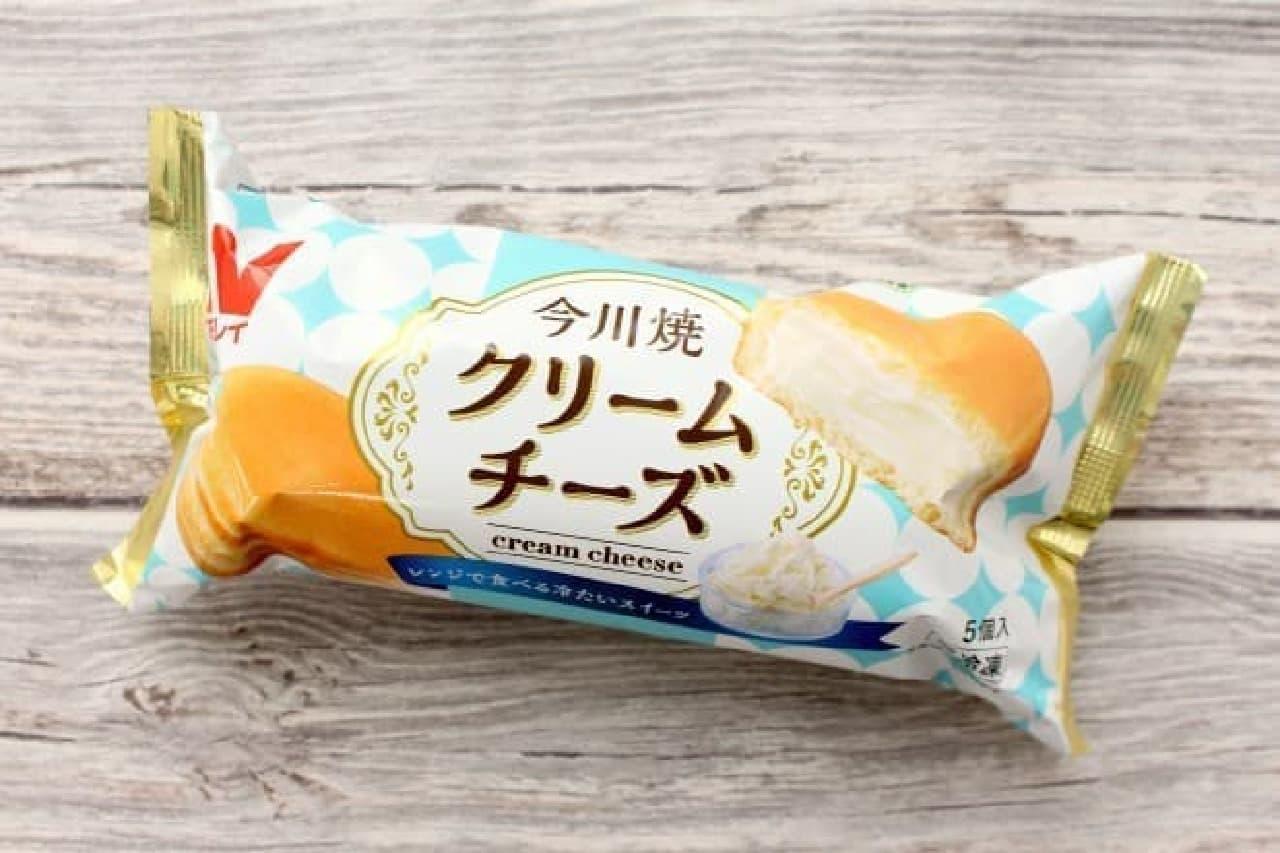 ニチレイ「今川焼クリームチーズ」