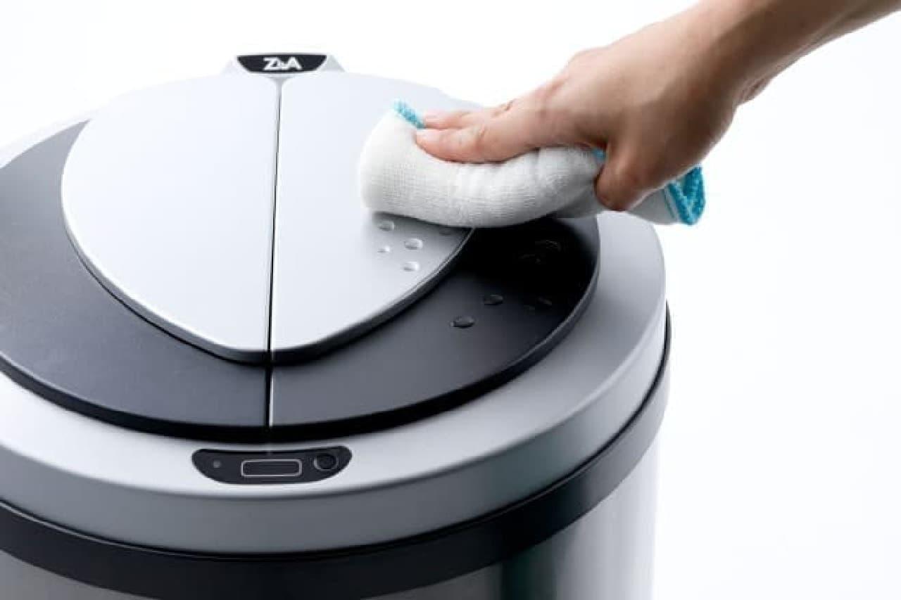 自動開閉ゴミ箱「ZitA(ジータ)」