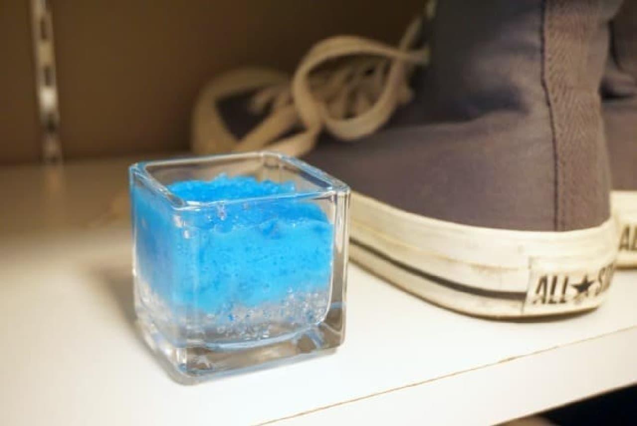 保冷剤を消臭芳香剤に再利用