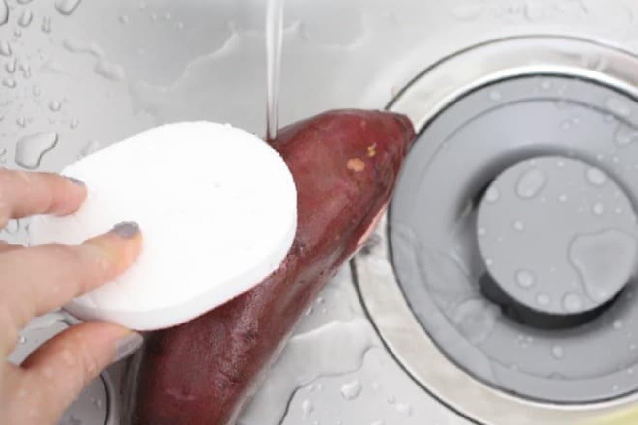 ダイソー 水だけでつる~ん 野菜の皮むき