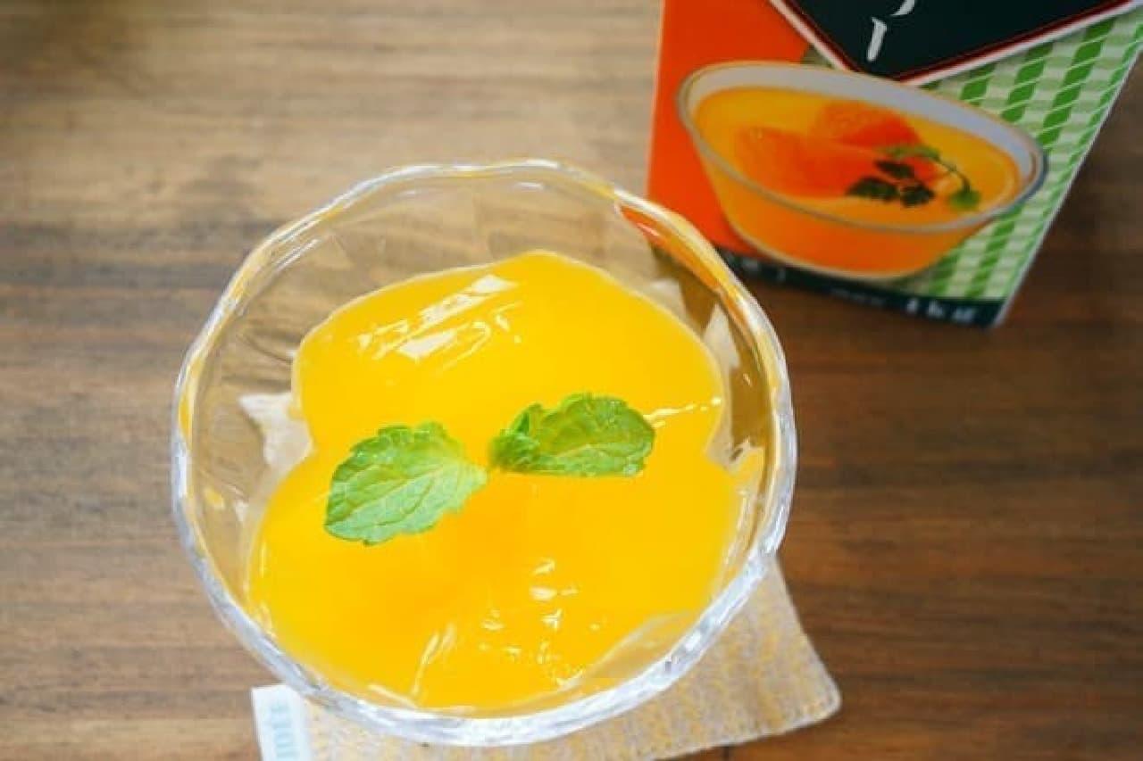 業務スーパーのオレンジゼリー