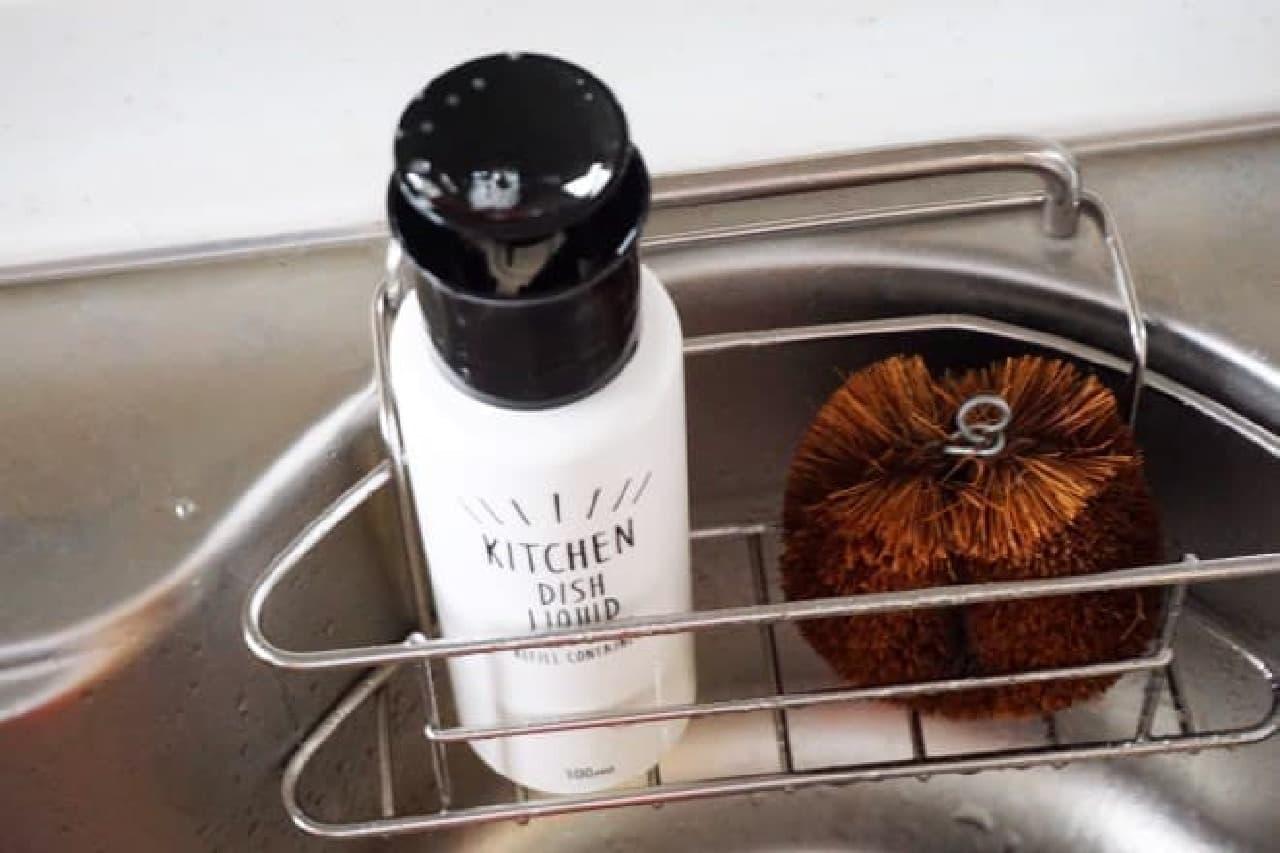 3coins(スリーコインズ)の食器用洗剤ディスペンサー