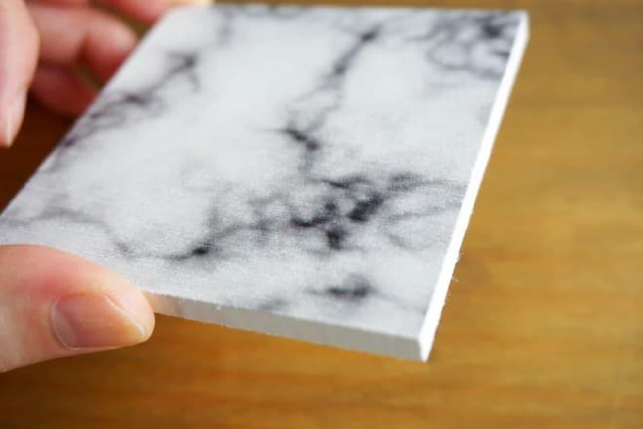 大理石風珪藻土プレート