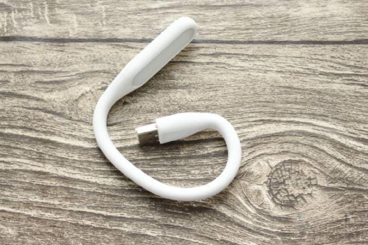 100均 USBフレキシブルライト