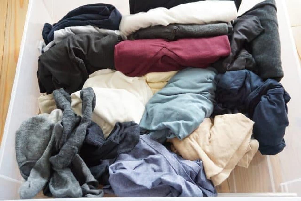 セリア「整理収納仕切りケース」