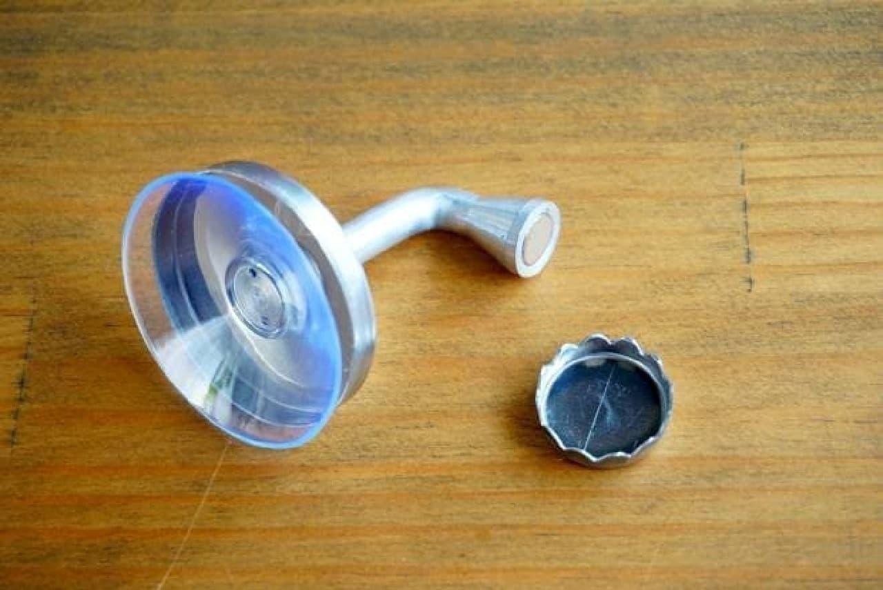 ダルトンのマグネット式ソープホルダー