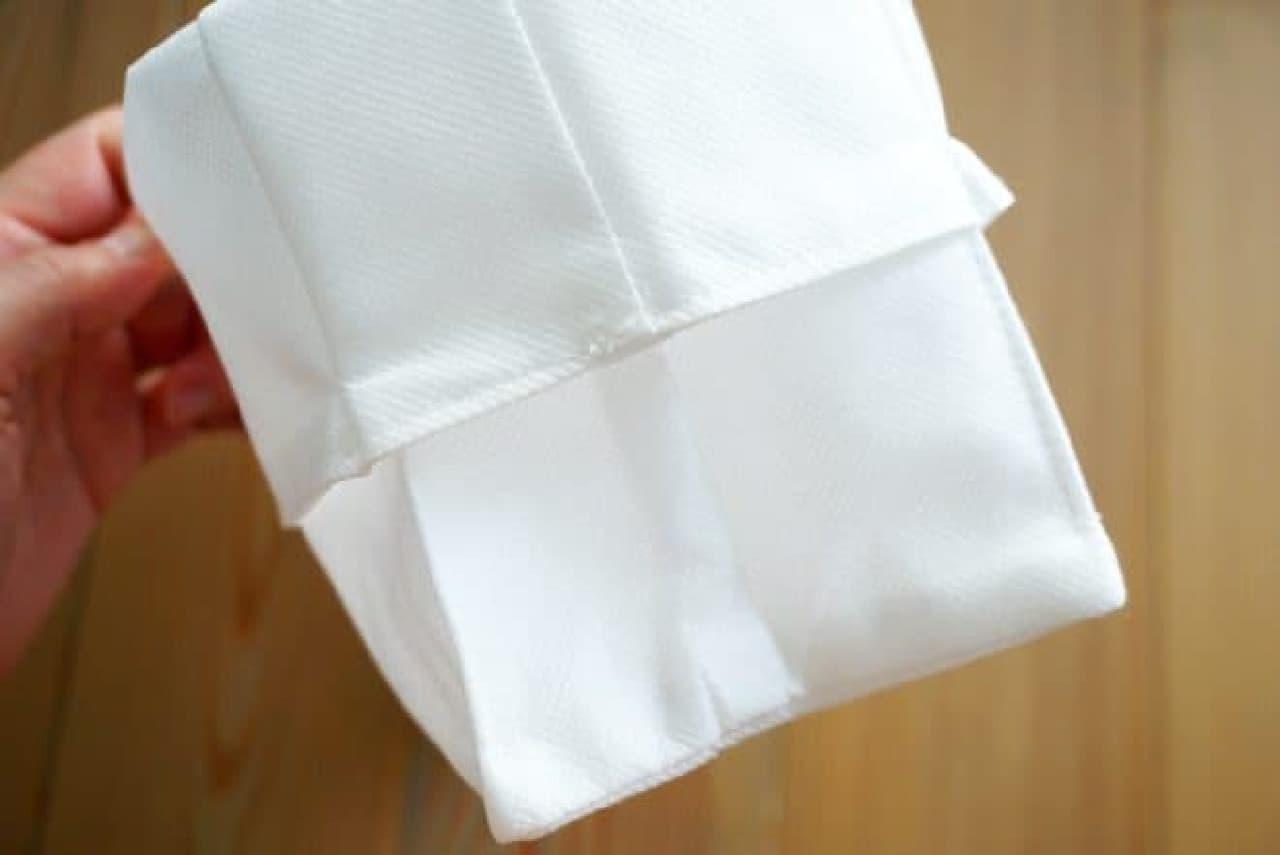 無印良品「高さが変えられる不織布 仕切ケース」