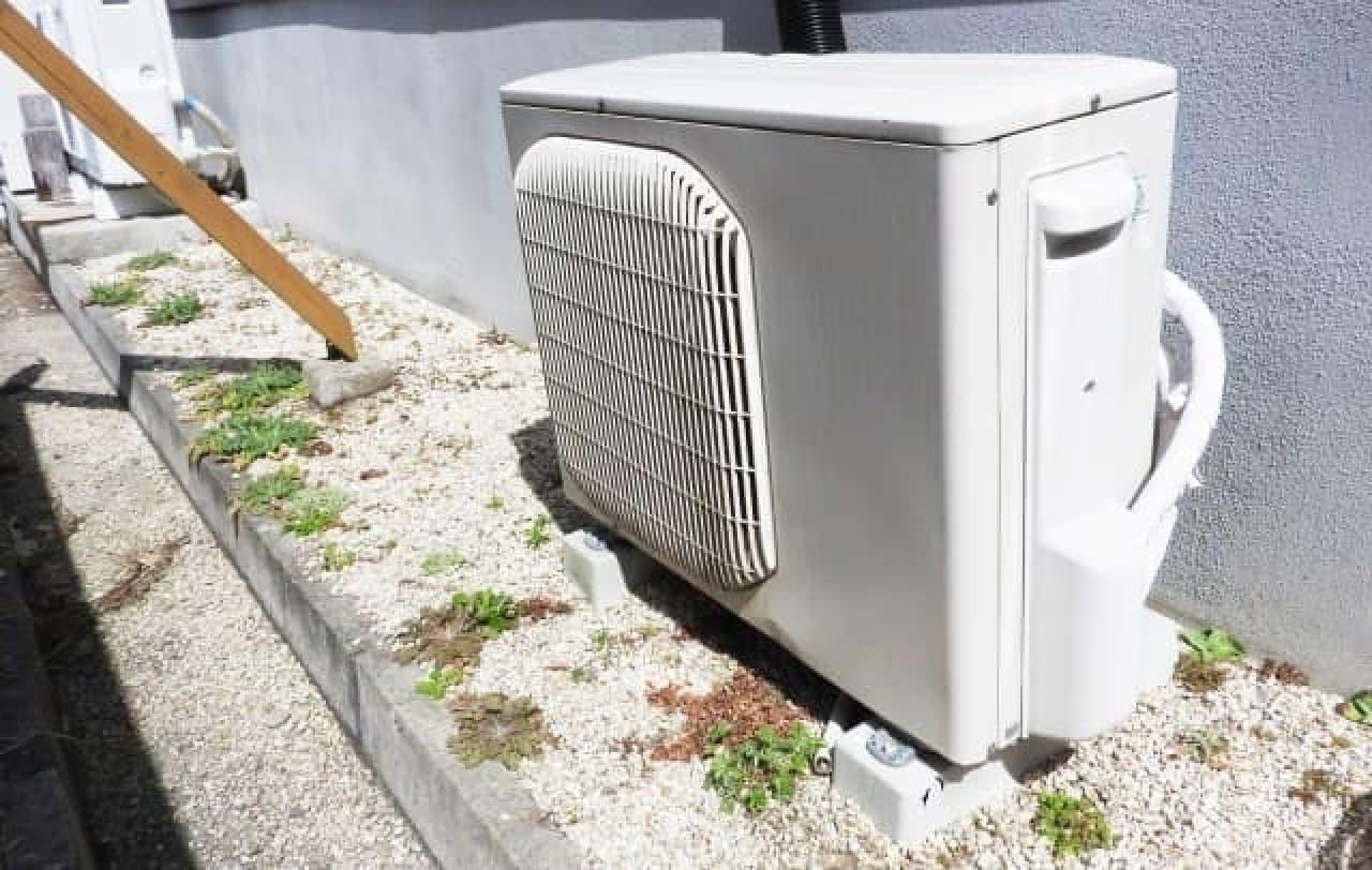 エアコンの室外機の画像