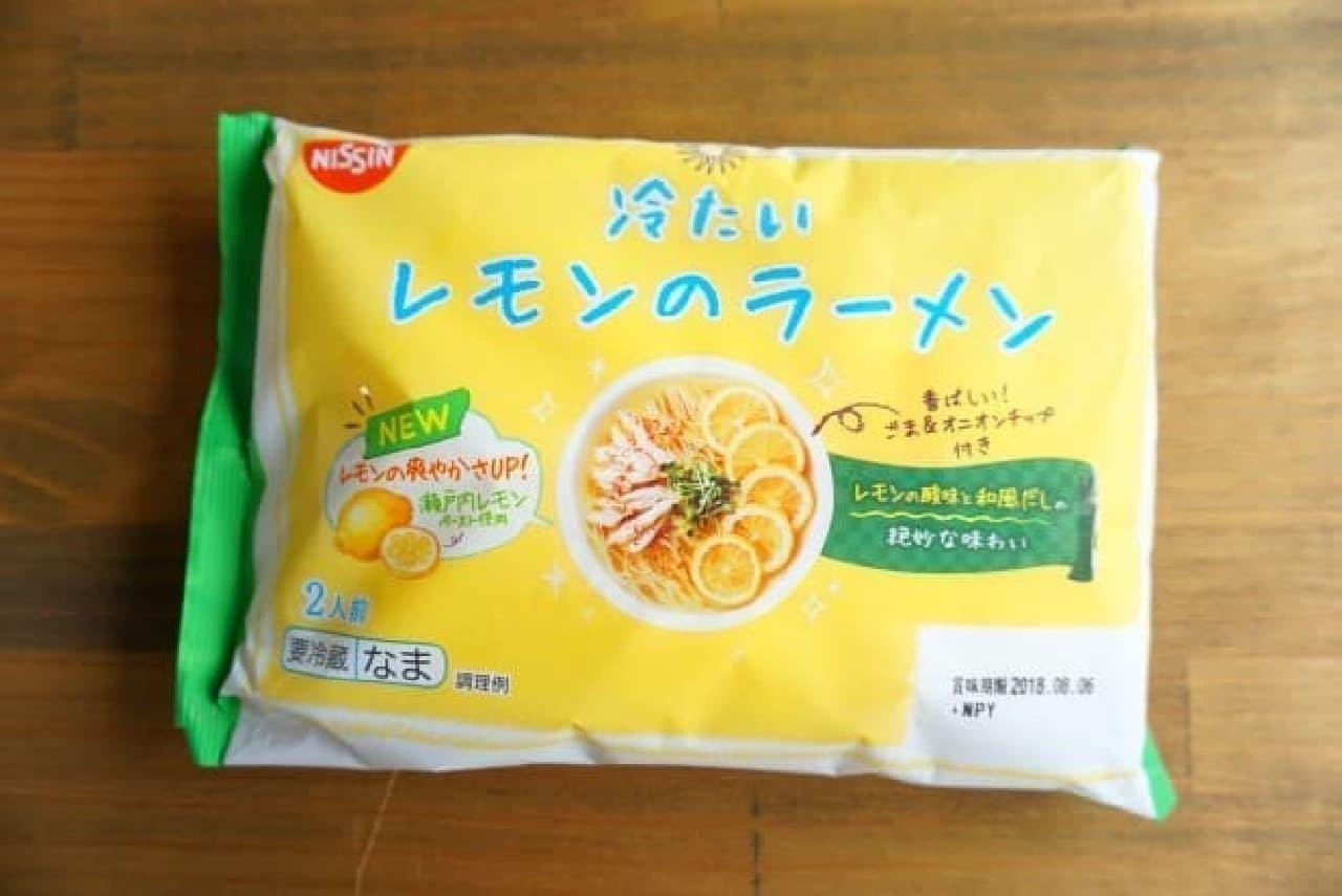 日清「冷たいレモンのラーメン」