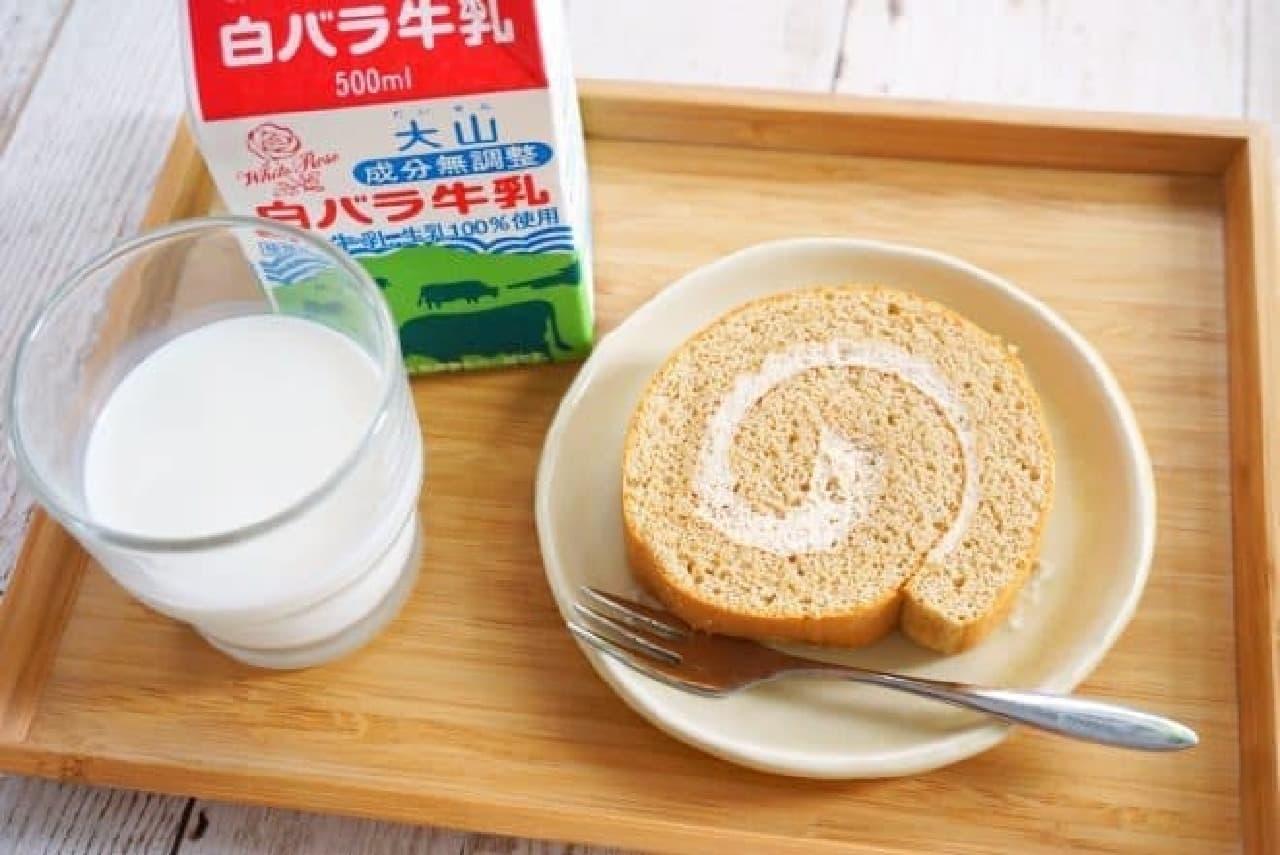 成城石井の白バラ牛乳スイーツ