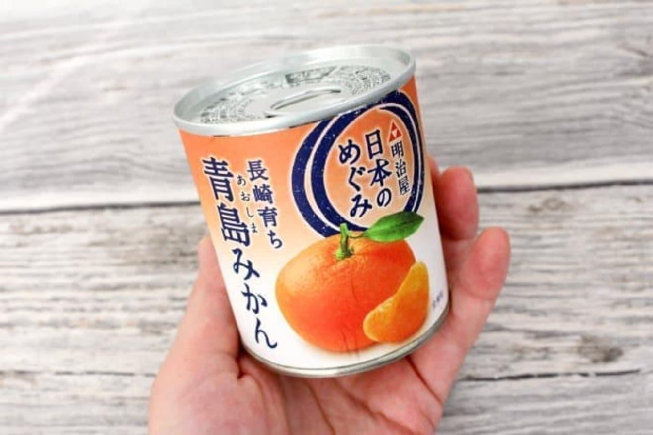 みかんの缶詰シャーベット