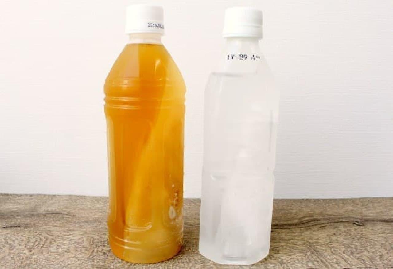すぐ飲めてずっと冷たいペットボトル