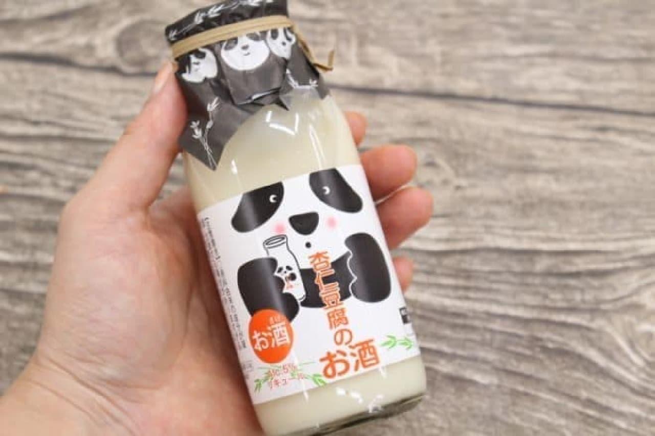 カルディ パンダ杏仁豆腐のお酒