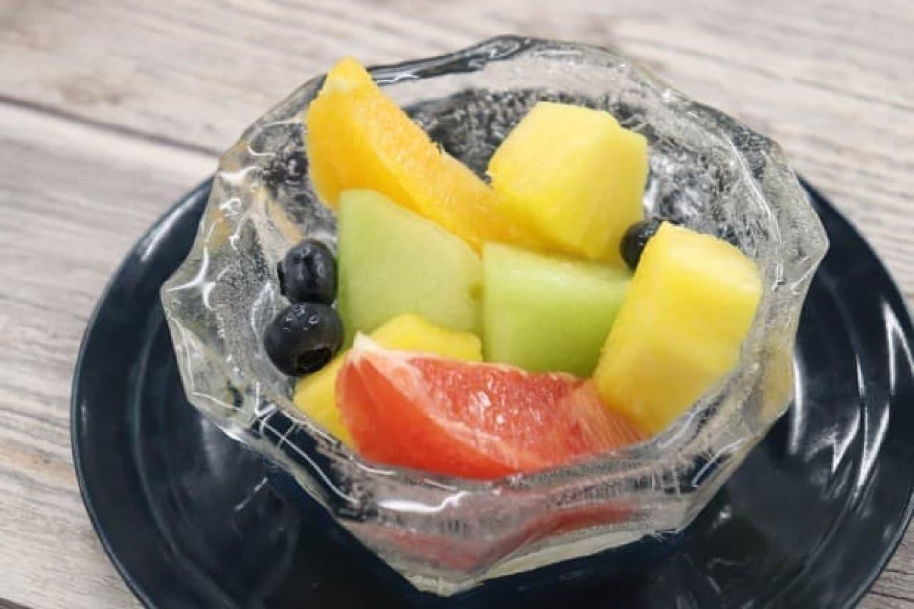 セリア 氷のうつわ 製氷皿