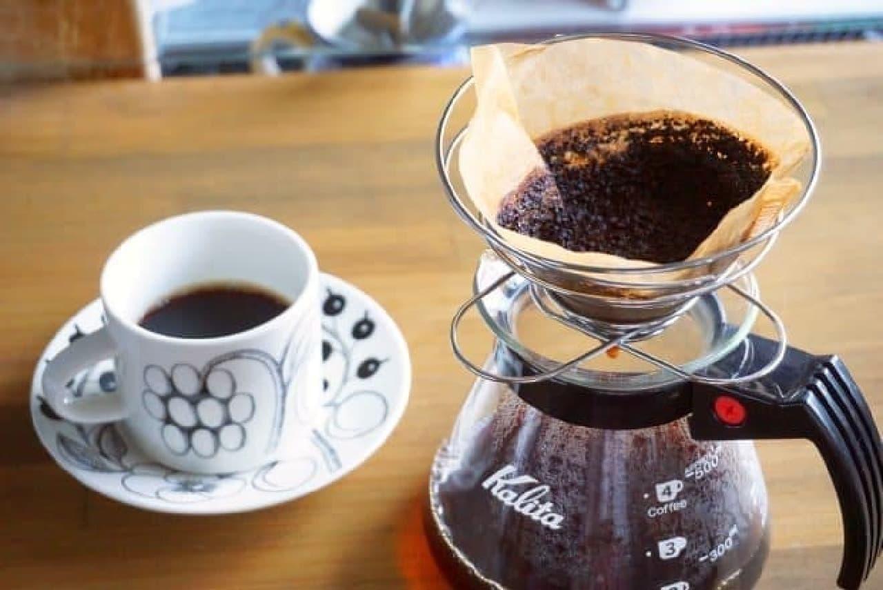 セリア「折りたたみコーヒードリッパー」