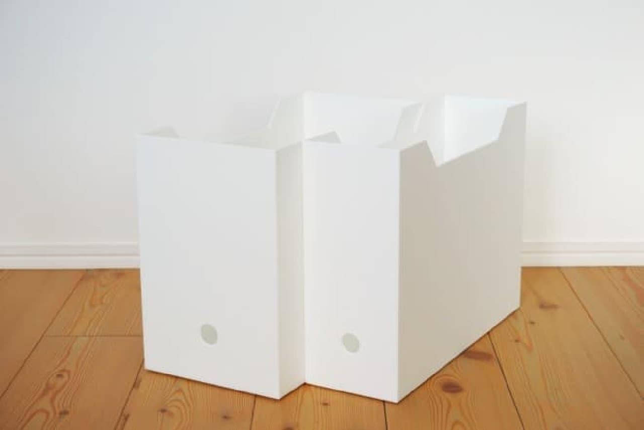 ニトリの「A4ファイルケース」