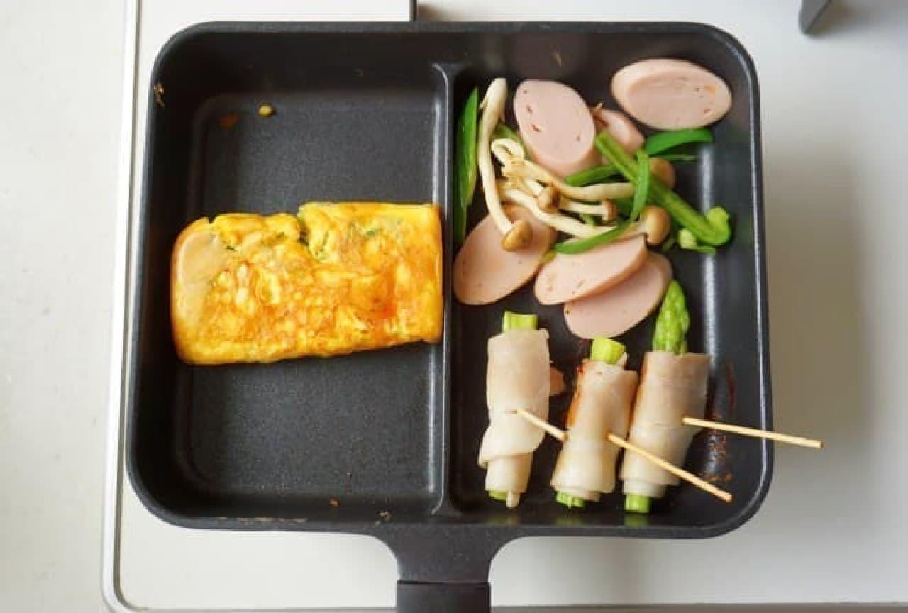 ニトリ「IHセパレートパン」