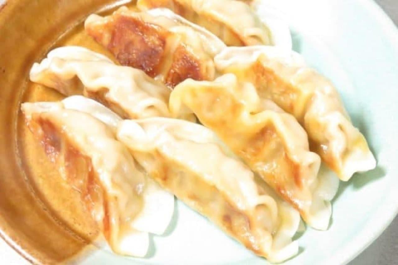 チーズタッカルビ風餃子