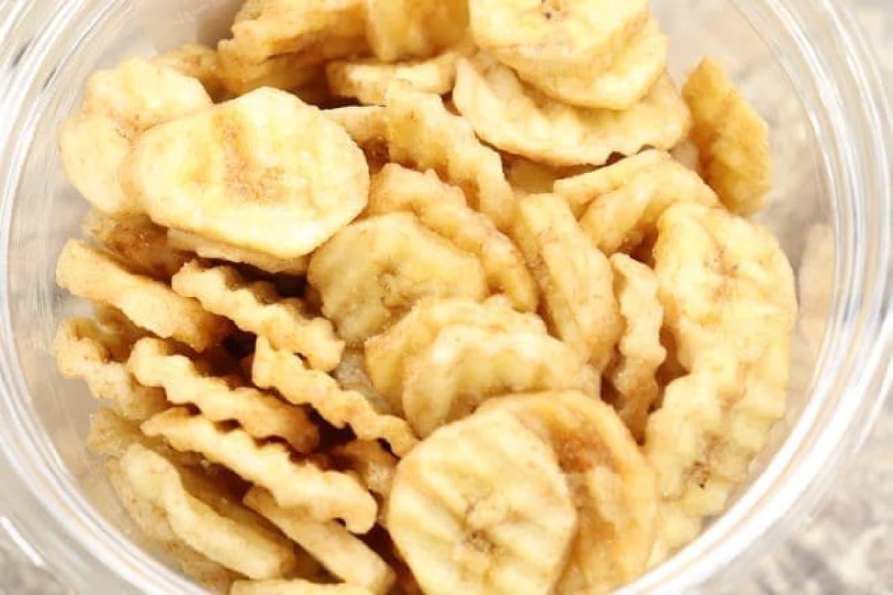 ソルトバナナチップス