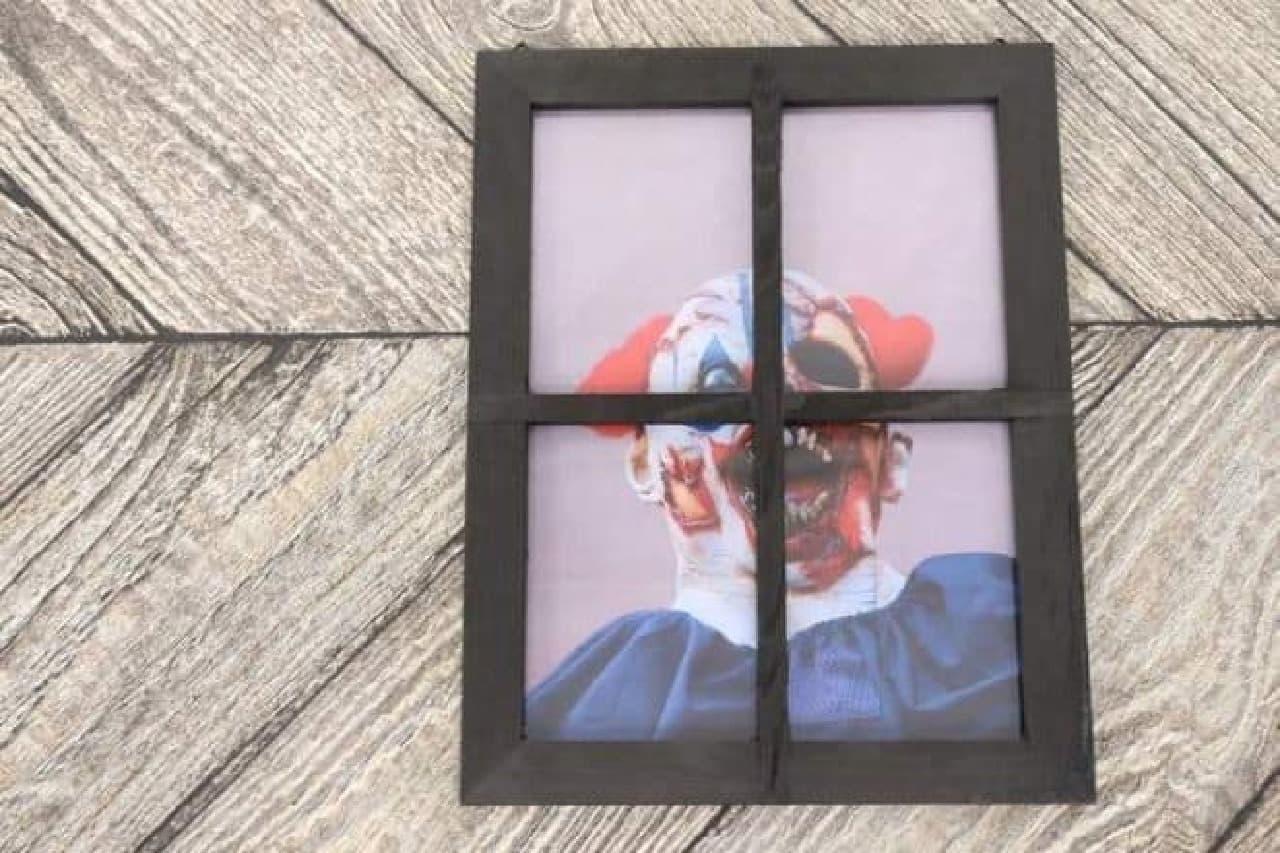 ナチュラルキッチン 木製窓枠アクリルフレーム