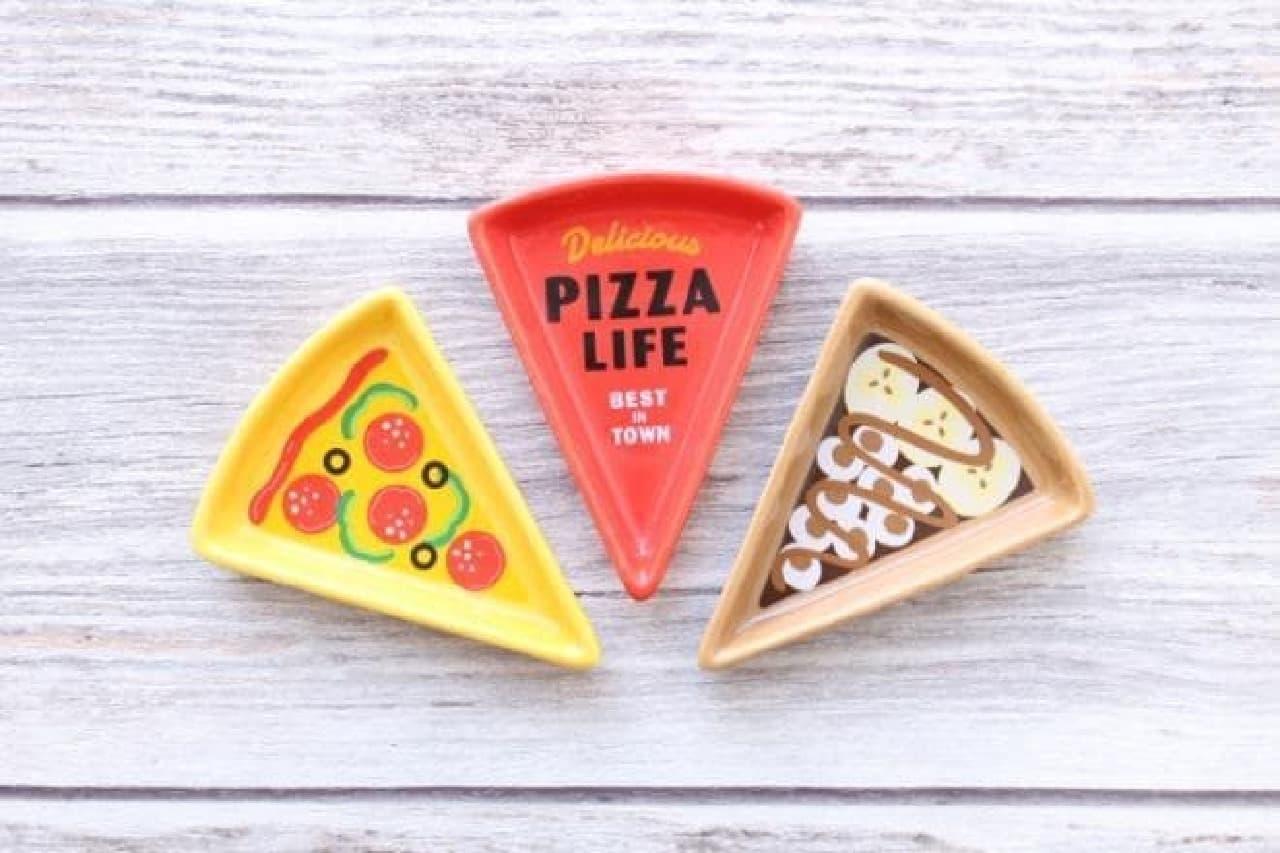 セリア ドーナツ ピザ インテリアトレイ
