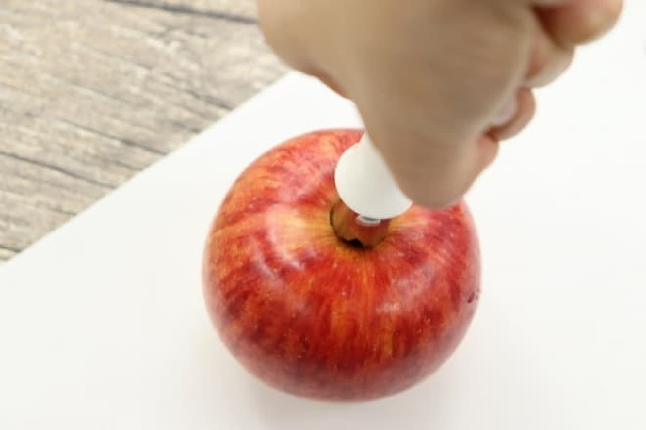 ダイソー りんごの芯抜き