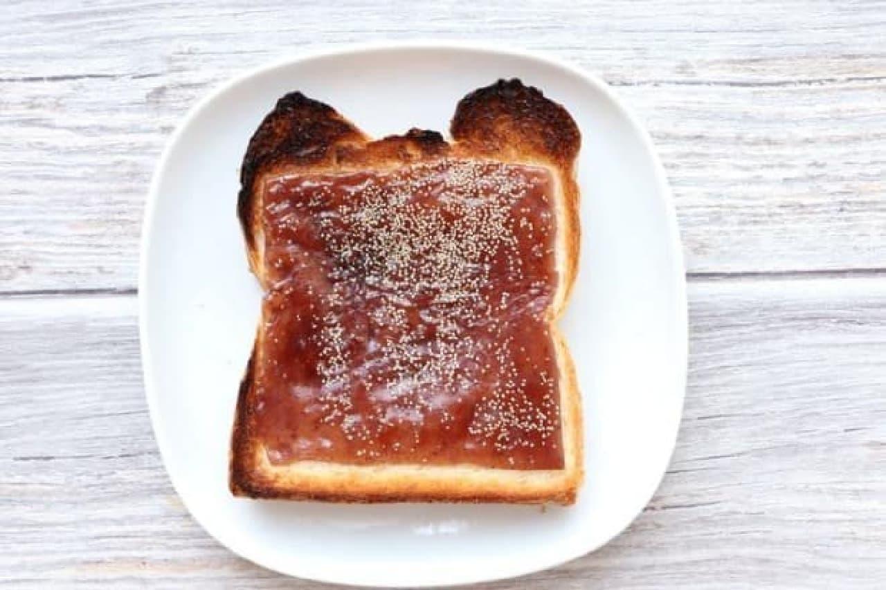 ようかんトースト