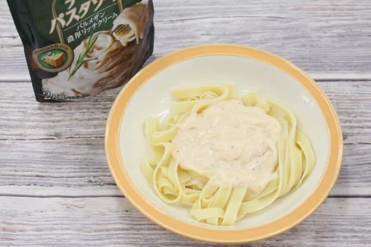 クラフト チーズパスタソース