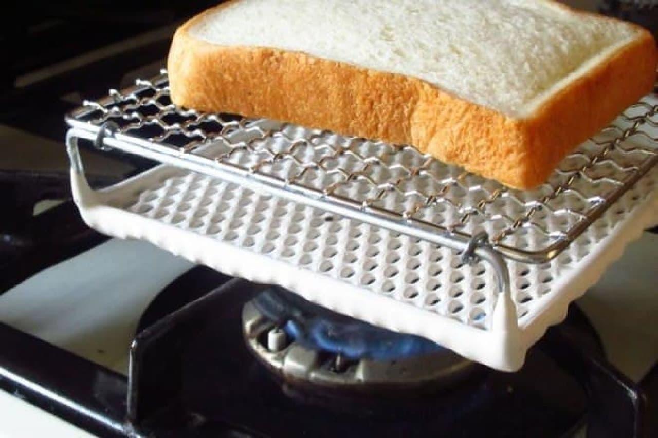 トーストの色々な焼き方
