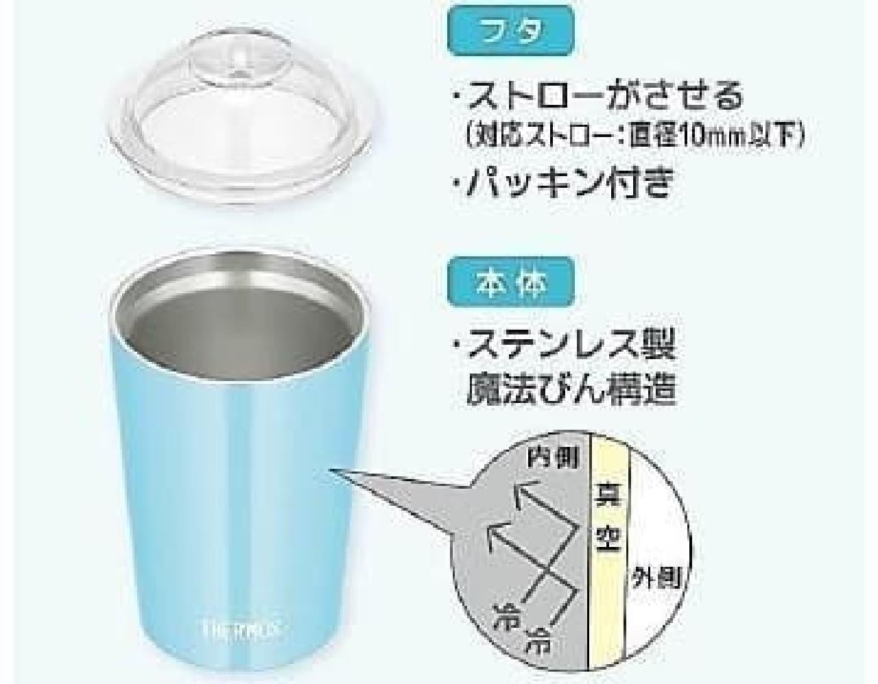 サーモス 保冷ストローカップ(JDJ-300)