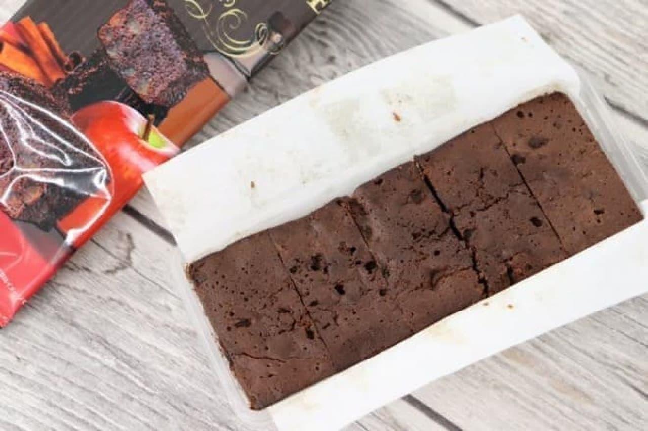 カルディ アップルチョコレートケーキ
