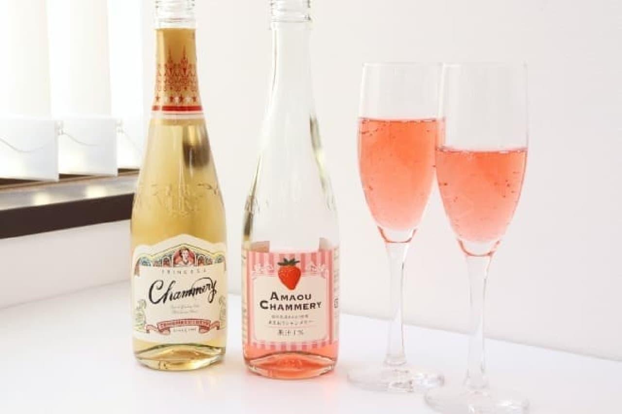 友枡飲料のシャンメリー