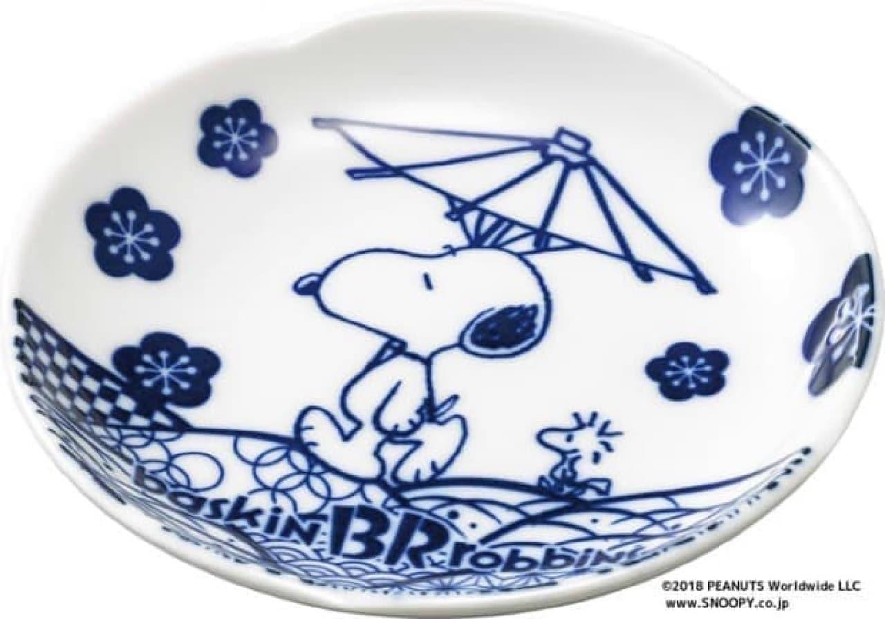 スヌーピー和風小皿 サーティワン