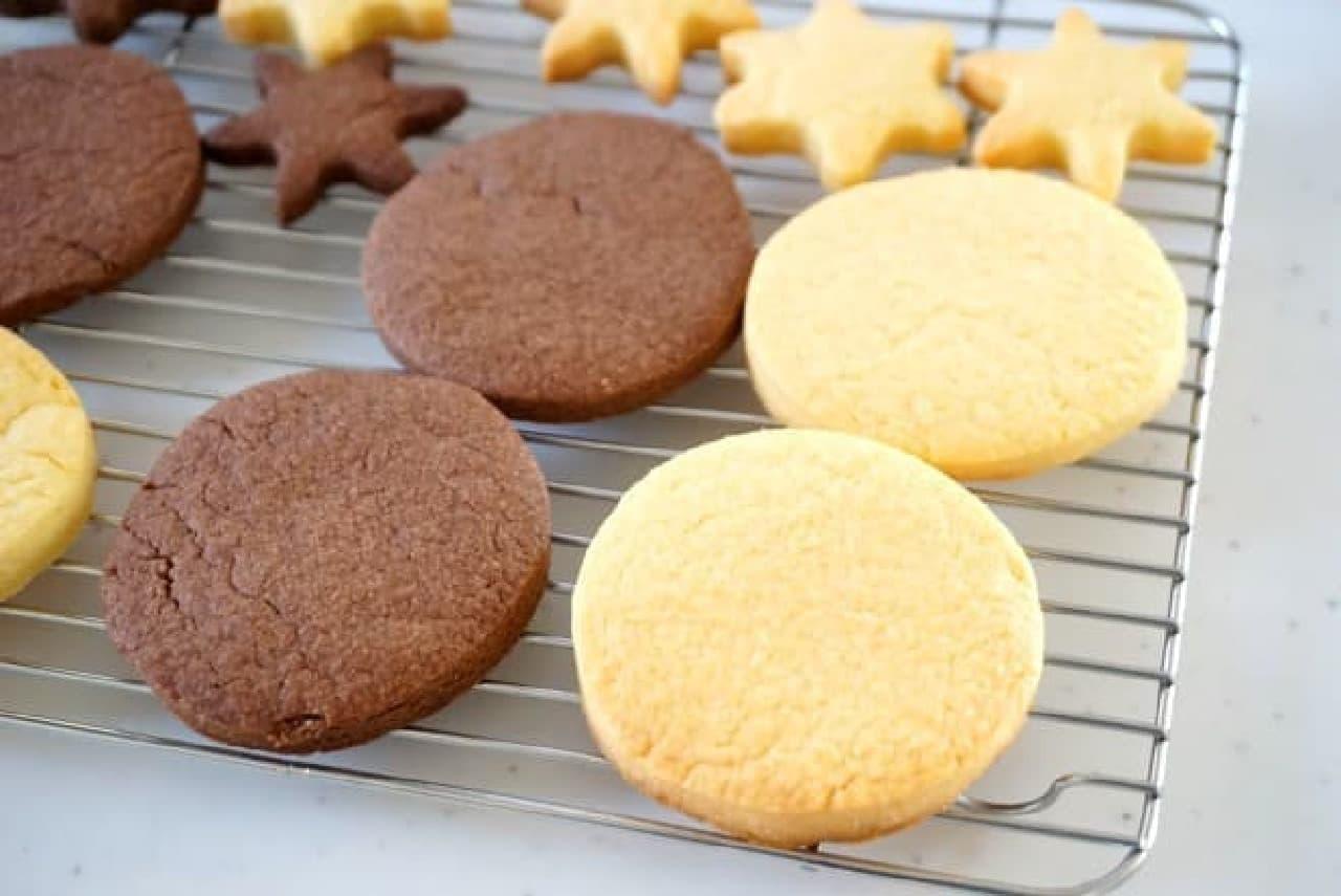 ダイソーのクッキーミックス粉