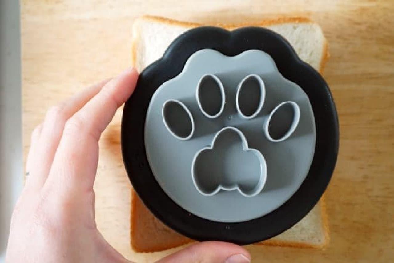 ニャミー「ねこのサンドイッチ型」