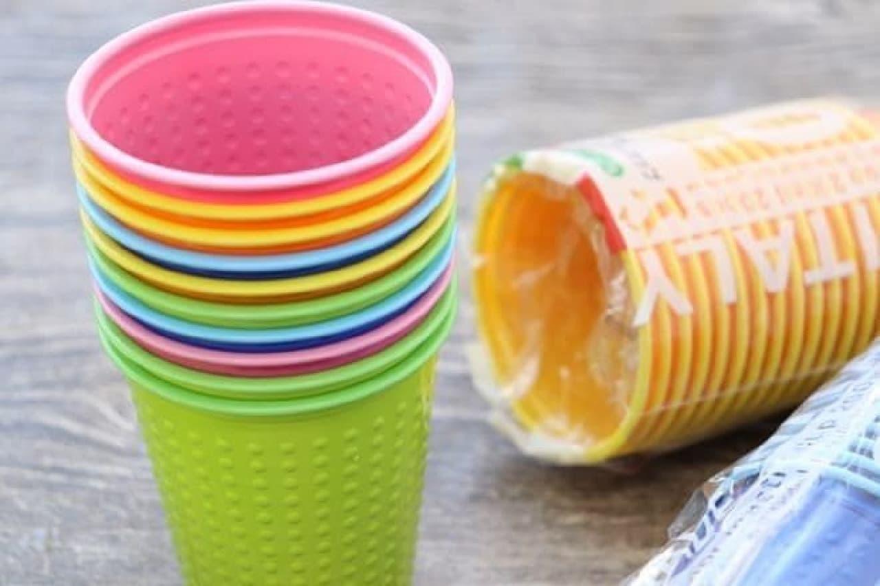 ダイソー イタリア製プラカップ