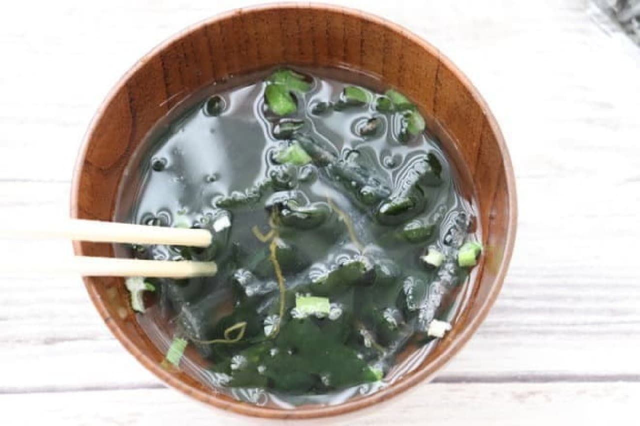 カルディ 海藻トロっとスープ