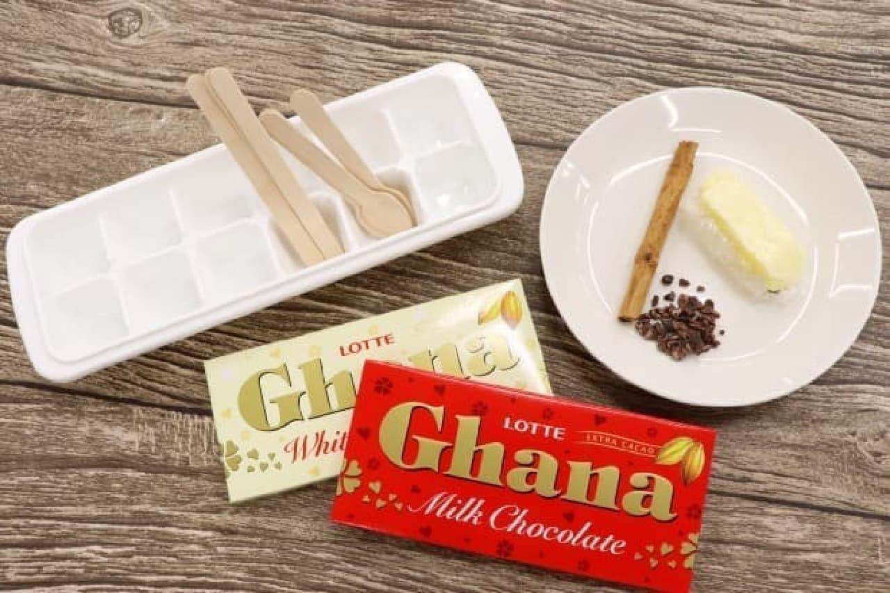ガーナでホットチョコレートスプーン